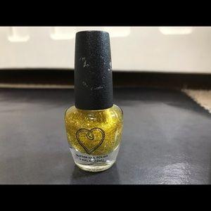 Glitter Top Coat (yellow gold)